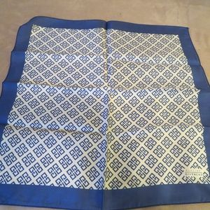 "Vintage GIVENCHY Silk Handkerchief Scarf, 12"""